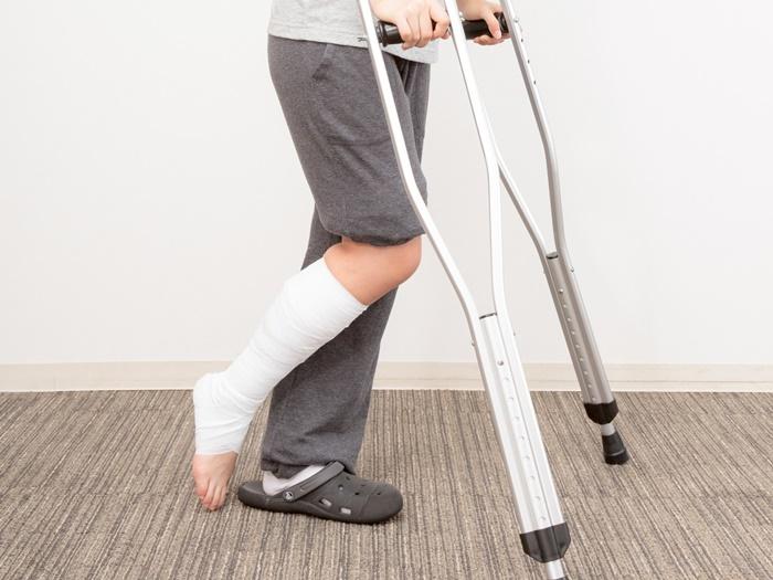 足関節捻挫?
